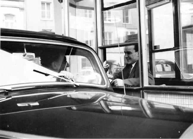 Chatting It Up At The Drive-Th... is listed (or ranked) 3 on the list Photos Of How Drive-Throughs Have Changed Over The Years