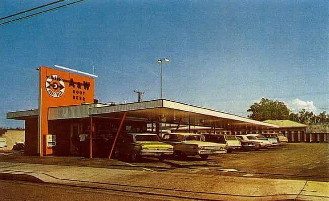 Pulling Up To The A&W In Orang... is listed (or ranked) 4 on the list Photos Of How Drive-Throughs Have Changed Over The Years