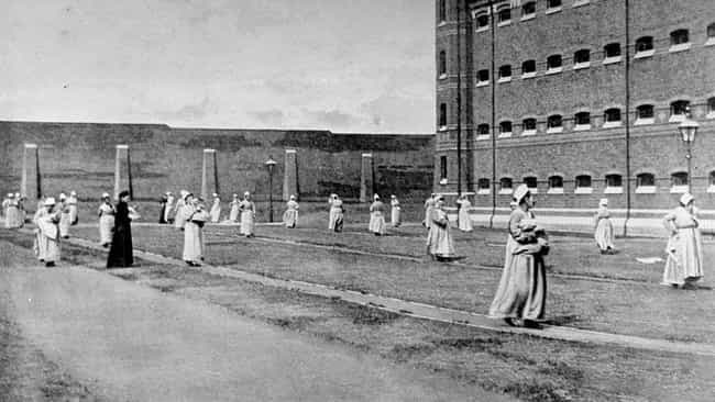 Mothers Walking With Their Chi... is listed (or ranked) 2 on the list 19 Eye-Opening Photos Of Prisoners From History