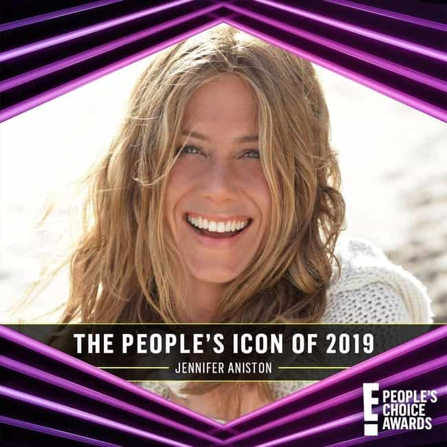 Jennifer Aniston Is The People... is listed (or ranked) 6 on the list 12 Reasons To Be Excited About The 2019 E!People's Choice Awards