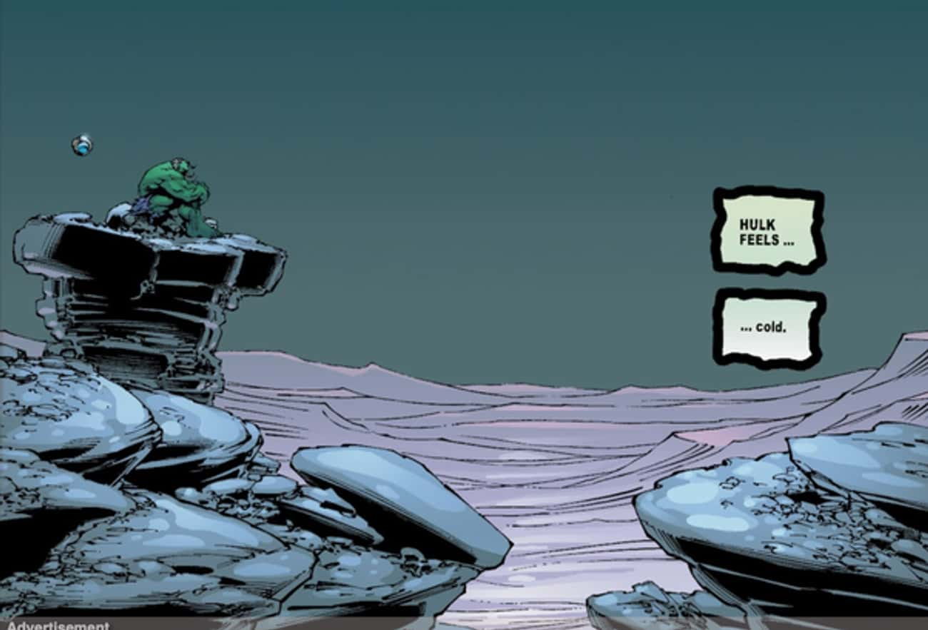 'Hulk: The End' Sees A Lonely Hulk As The Last Living Being On Earth