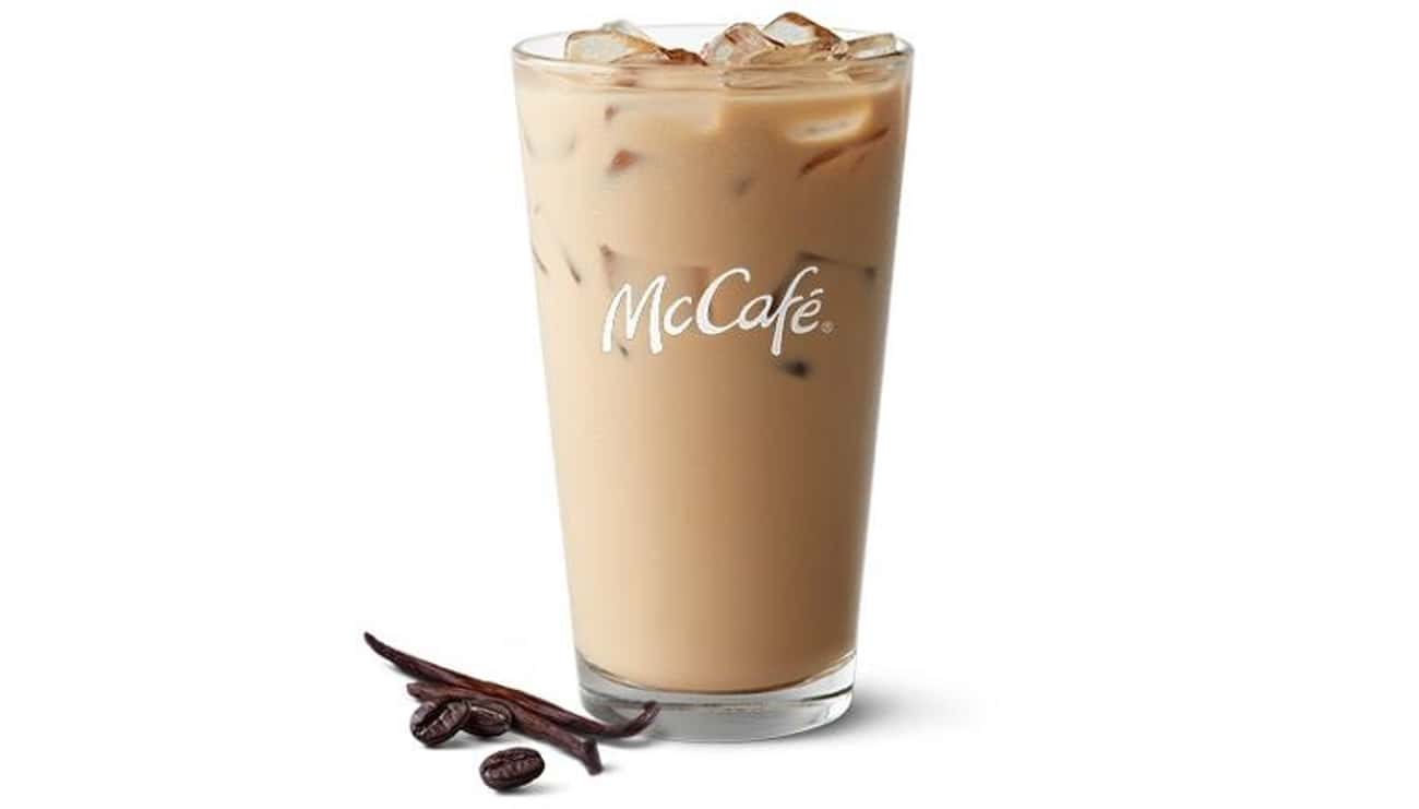 Iced French Vanilla Latte is listed (or ranked) 4 on the list The Most Delicious McCafé Drinks At McDonald's