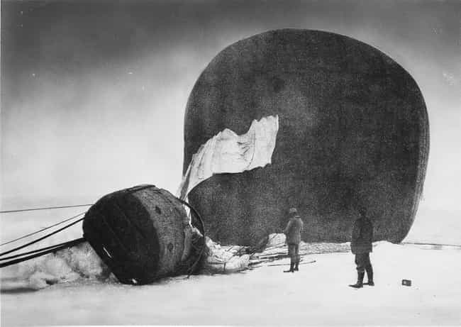 The Balloon 'Eagle' After Land... is listed (or ranked) 1 on the list Haunting Photos Discovered In The Arctic Ice 33 Years After A Doomed Expedition Set Out