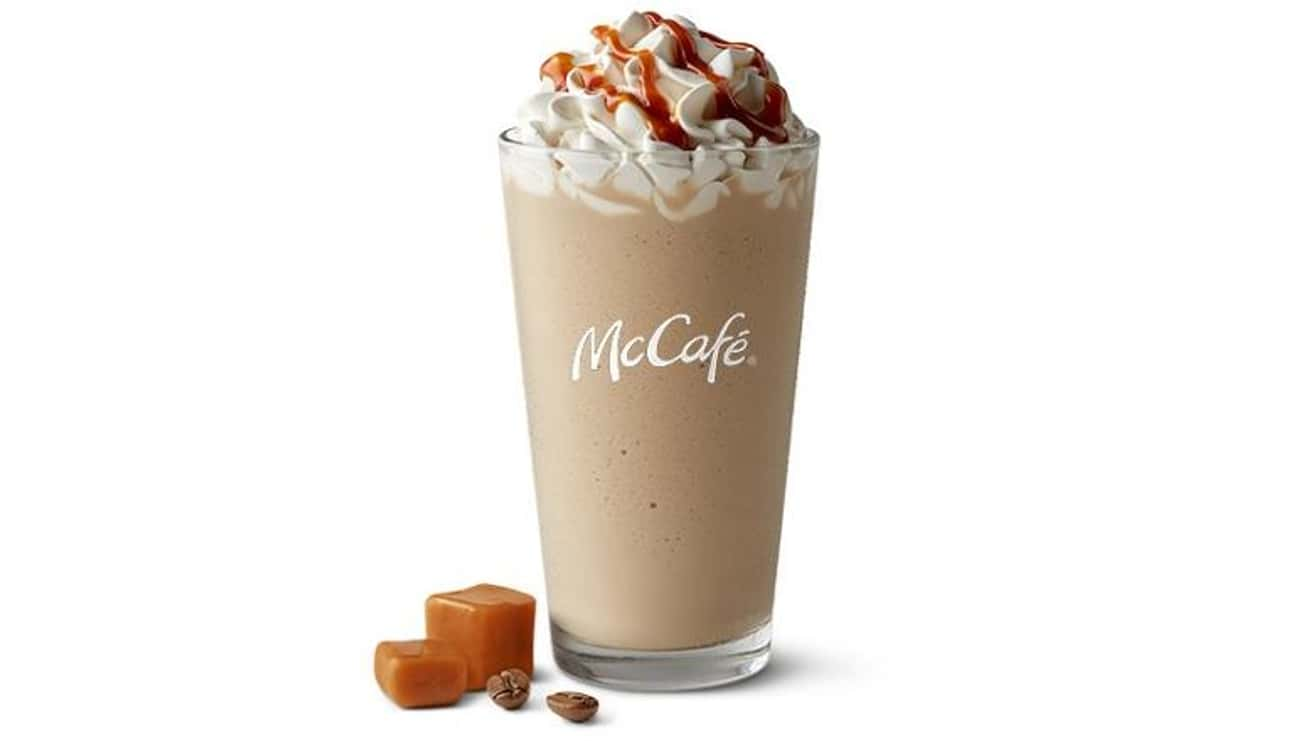 Caramel Frappé is listed (or ranked) 1 on the list The Most Delicious McCafé Drinks At McDonald's