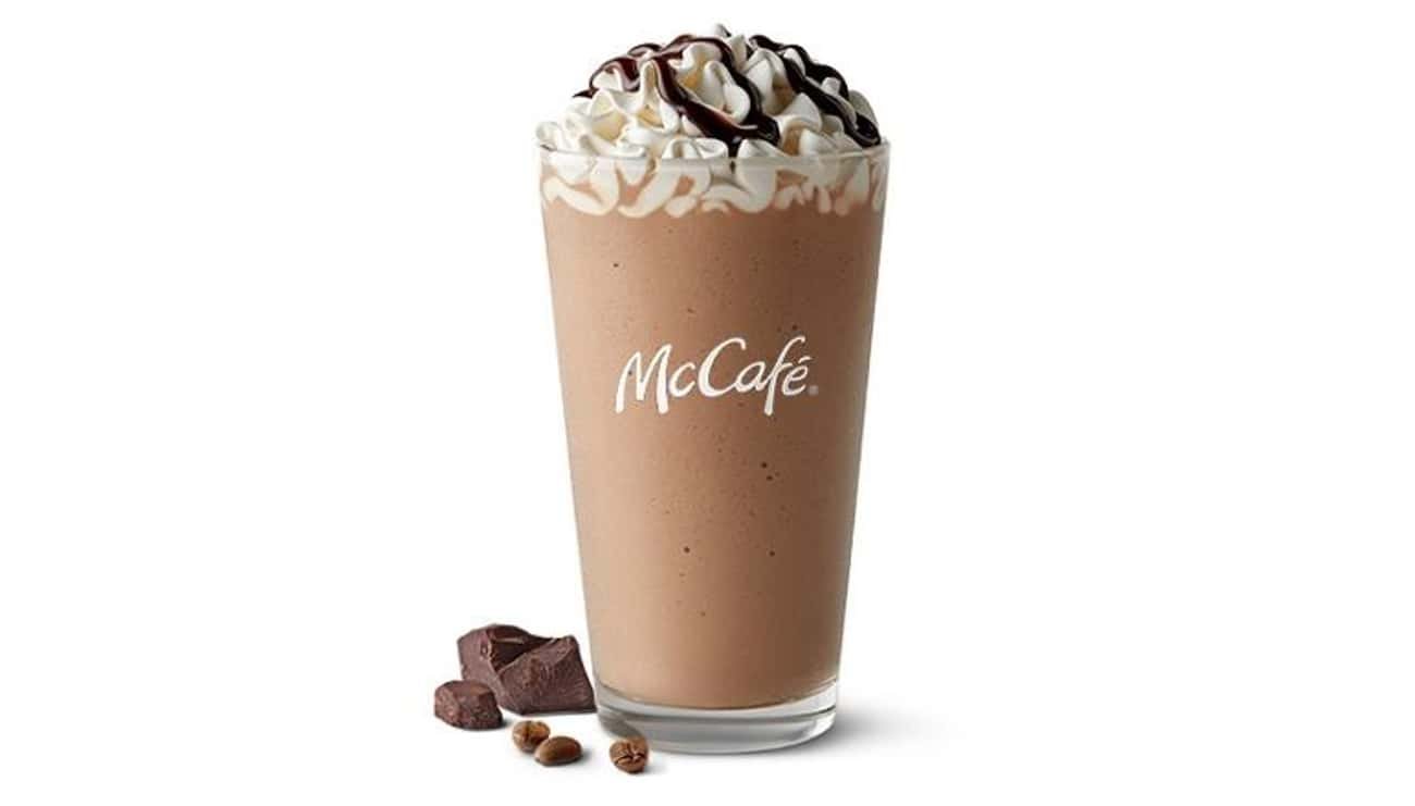 Mocha Frappé is listed (or ranked) 2 on the list The Most Delicious McCafé Drinks At McDonald's