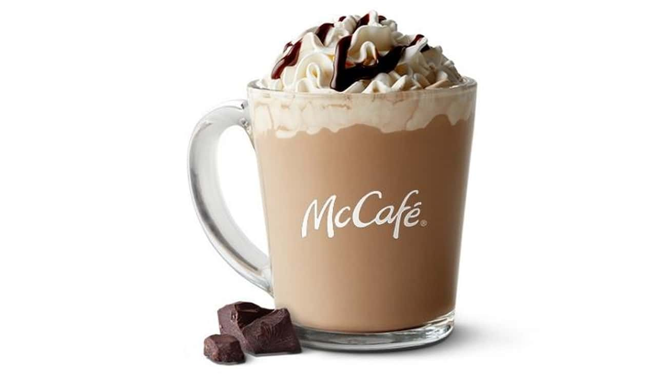 Hot Chocolate is listed (or ranked) 3 on the list The Most Delicious McCafé Drinks At McDonald's
