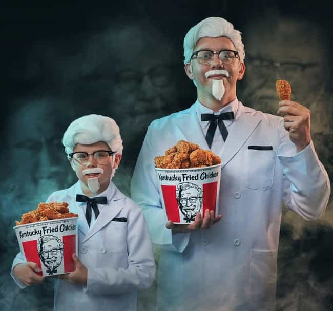 Colonel Sanders (KFC) is listed (or ranked) 3 on the list A Definitive Ranking Of The Best Fast Food Mascots