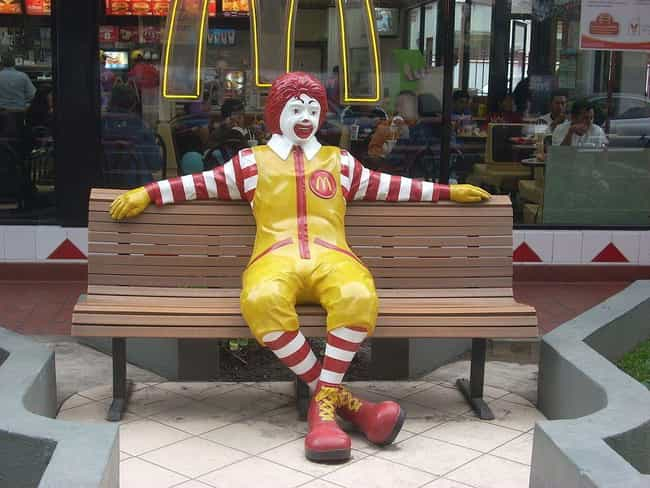 Ronald McDonald (McDonald's) is listed (or ranked) 2 on the list A Definitive Ranking Of The Best Fast Food Mascots