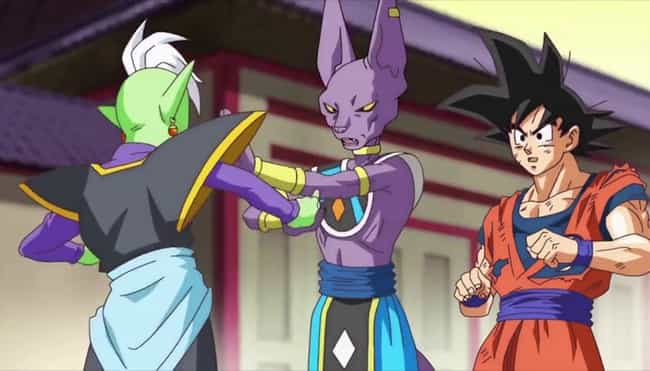 Zamasu Gets Wrecked Twice In '... is listed (or ranked) 3 on the list 15 Anime Characters Who Were Able To Defeat Gods