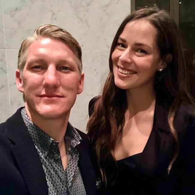 Bastian Schweinsteiger And Ana... is listed (or ranked) 2 on the list 19 Athlete Couples Who Tied The Knot