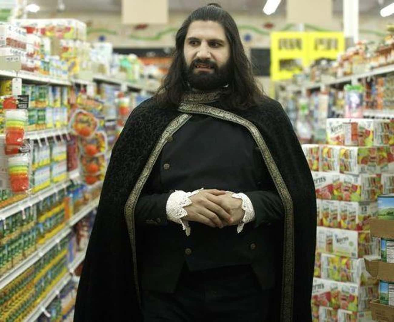 Nandor is listed (or ranked) 2 on the list The Funniest Characters From 'What We Do in the Shadows'