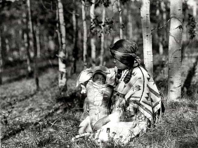 Assiniboin Mother And Child, 1... is listed (or ranked) 3 on the list Edward S. Curtis's Photographs Of Native American Life Are Hauntingly Beautiful