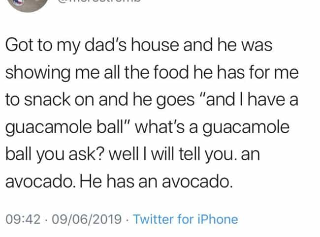 Guacamole Ball is listed (or ranked) 4 on the list 24 Amazing Times People Couldn't Think Of The Right Word