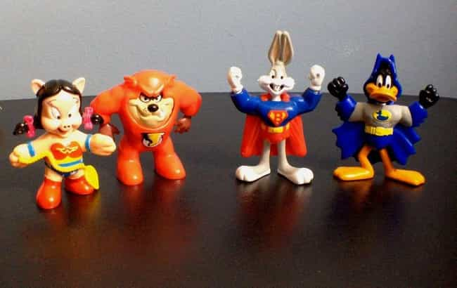 Looney Tunes DC Super Friends is listed (or ranked) 3 on the list 26 McDonald's Happy Meal Toys From the '90s You Completely Forgot About Until Now