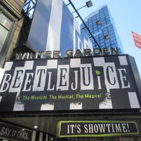 Beetlejuice is listed (or ranked) 11 on the list The Best Broadway Shows Right Now