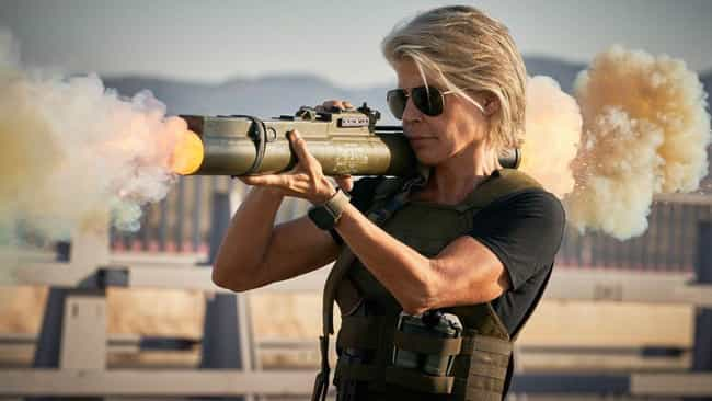 The Latest 'Terminator' Film F... is listed (or ranked) 3 on the list Things That Were A Thing: November 2019 Edition