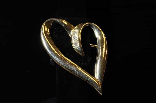 A Gold Heart With Three Diamon... is listed (or ranked) 3 on the list The FBI Is Actively Looking For Help Identifying The Toybox Killer's Victims With These Images