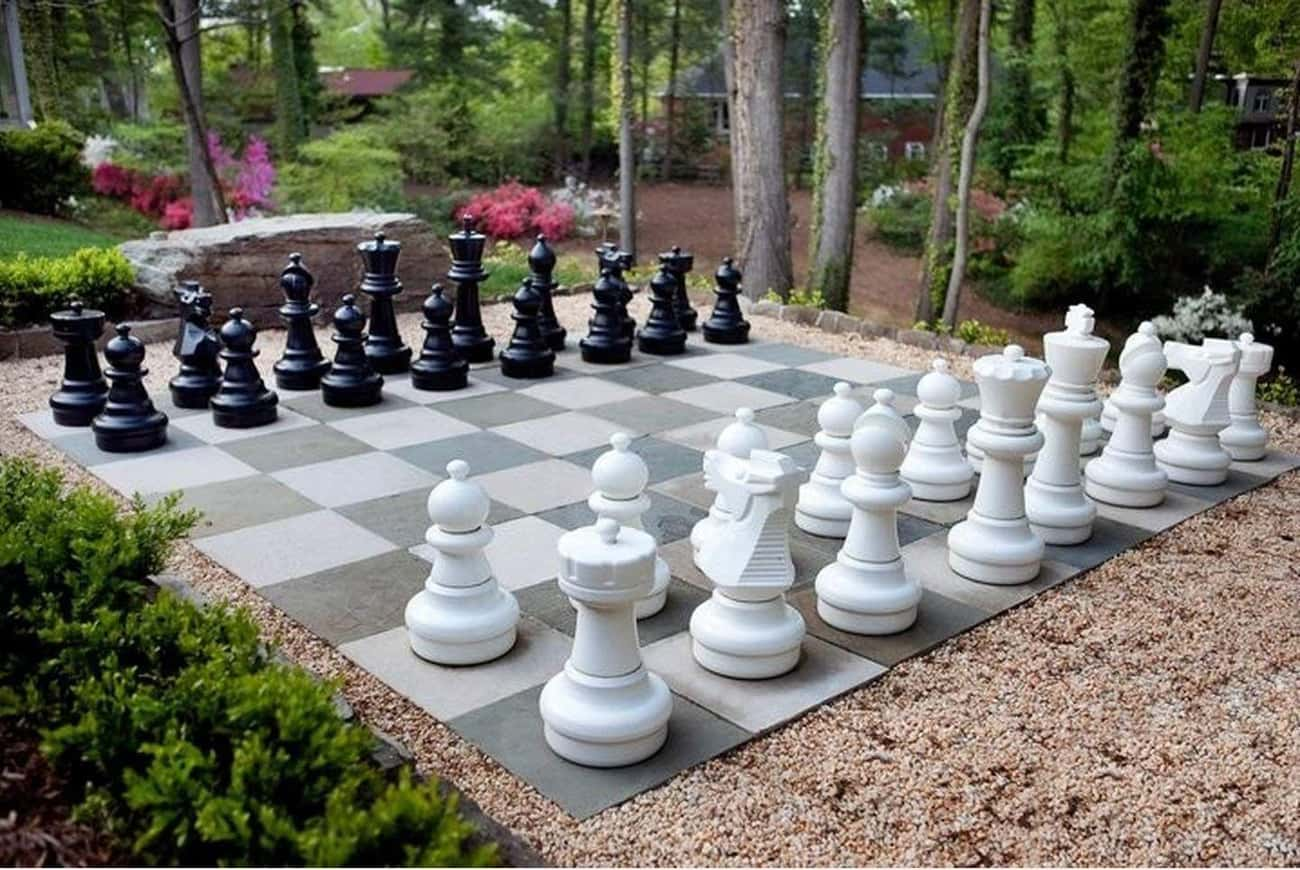 Giant Oversized Chess Set is listed (or ranked) 2 on the list Incredibly Bizarre Gifts That Are Certainly Not For Everybody