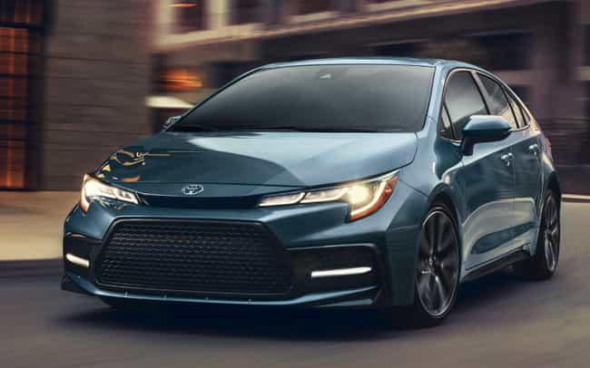 Toyota Corolla is listed (or ranked) 3 on the list The Best 2020 Car Models On The Market