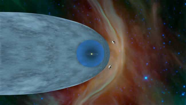 Voyager 2 Discovers The Bounda... is listed (or ranked) 1 on the list The Biggest Space News Of 2019