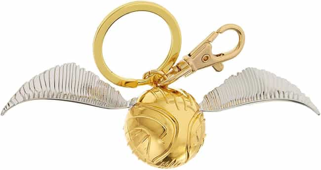 Gold Snitch Pewter Key Ring is listed (or ranked) 1 on the list 25 Hogwarts-Inspired Gifts For The Potterheads In Your Life