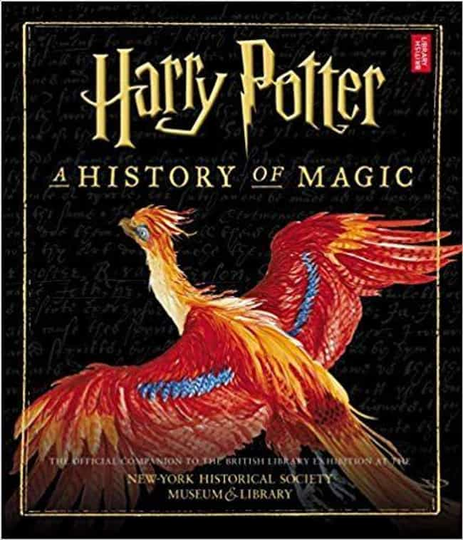 A History of Magic Companion B... is listed (or ranked) 4 on the list 25 Hogwarts-Inspired Gifts For The Potterheads In Your Life