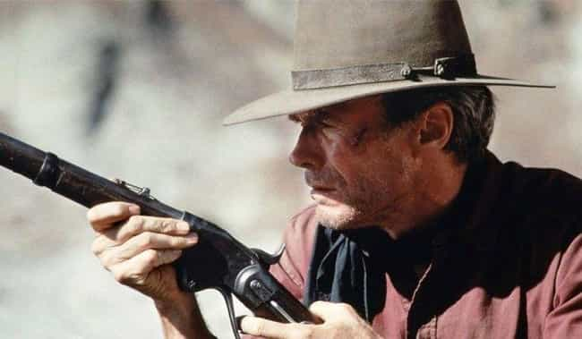 William Munny ('Unforgiven') is listed (or ranked) 3 on the list Which Fictional Wild West Gunslinger Would Win In A Free-For-All Shootout?