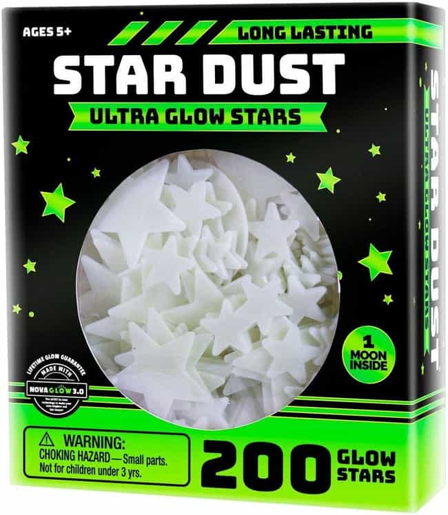 Glow-In-The-Dark Stars is listed (or ranked) 3 on the list 25 Stellar Gifts For Space And Astronomy Nerds