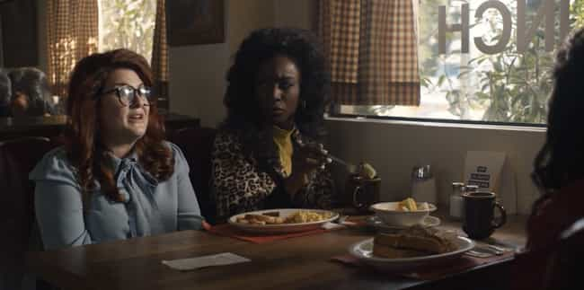 Brooke And Donna Meet A True C... is listed (or ranked) 3 on the list Everything That Happened In 'American Horror Story: 1984' Episode 8: 'Rest In Pieces'