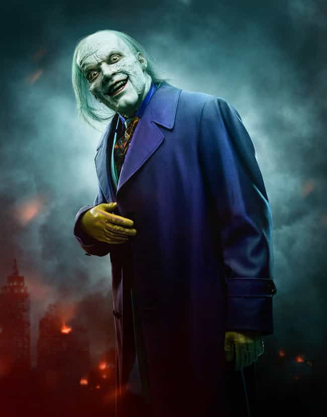 The 'Gotham' Costume, Je... is listed (or ranked) 5 on the list Every Movie And TV Joker Costume, Ranked