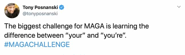Truly A Challenge For Some is listed (or ranked) 4 on the list Trump Just Proposed The #MAGAChallenge And Twitter's Response Has Been So Good