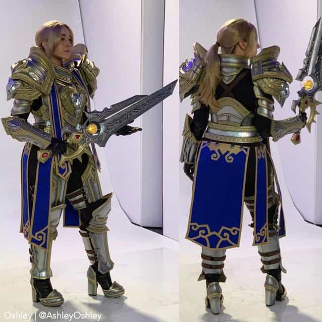 Queen Anduin Wrynn: A Female T... is listed (or ranked) 2 on the list The Best Cosplay At Blizzcon 2019