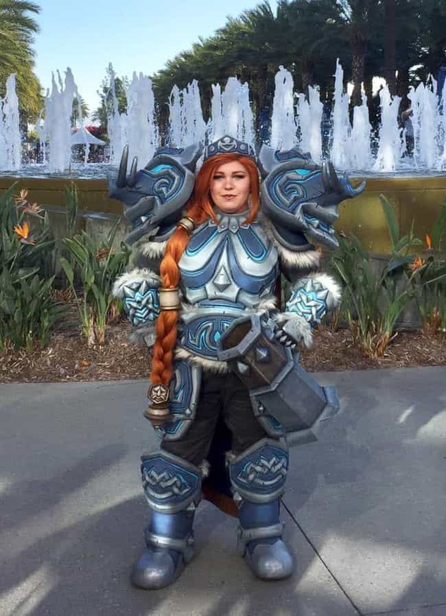 Lady Muradin Bronzebeard (Worl... is listed (or ranked) 3 on the list The Best Cosplay At Blizzcon 2019
