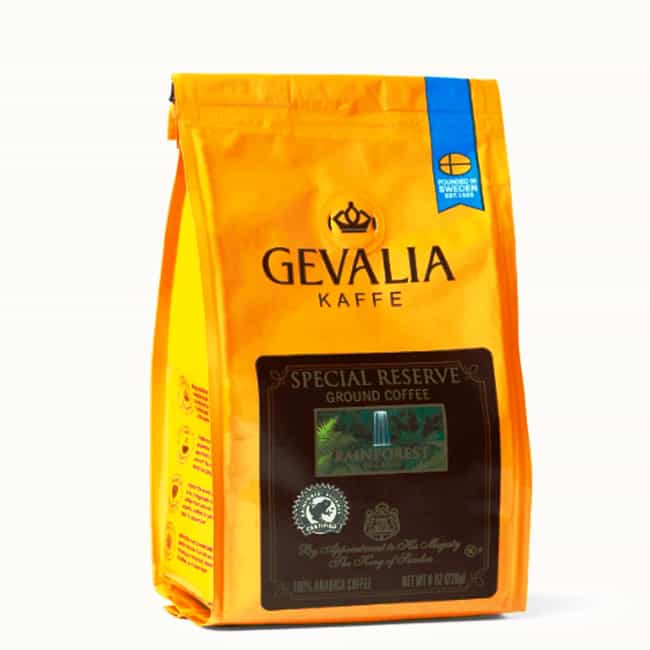 Rainforest Organic is listed (or ranked) 1 on the list The Best Gevalia Coffee Beans To Brew At Home