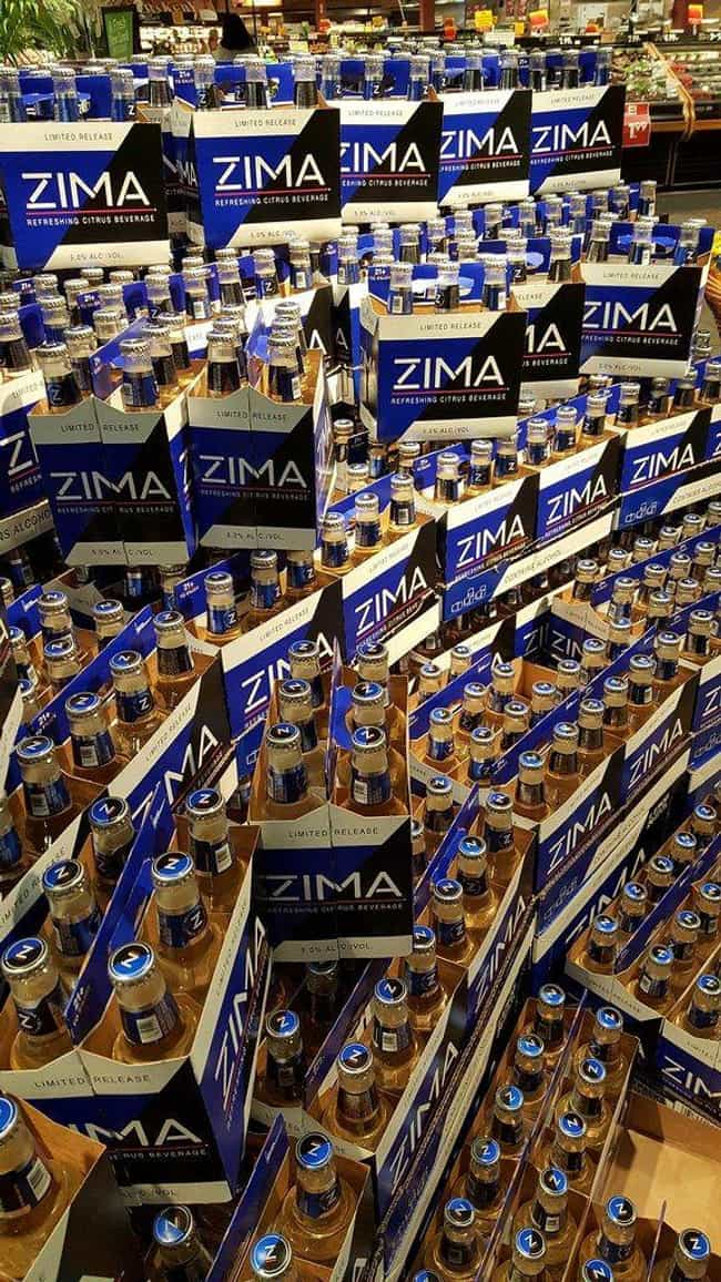 Due To Extreme Marketing... is listed (or ranked) 4 on the list For A Brief Moment In The '90s, Zima Was Popular - Until People Tasted It