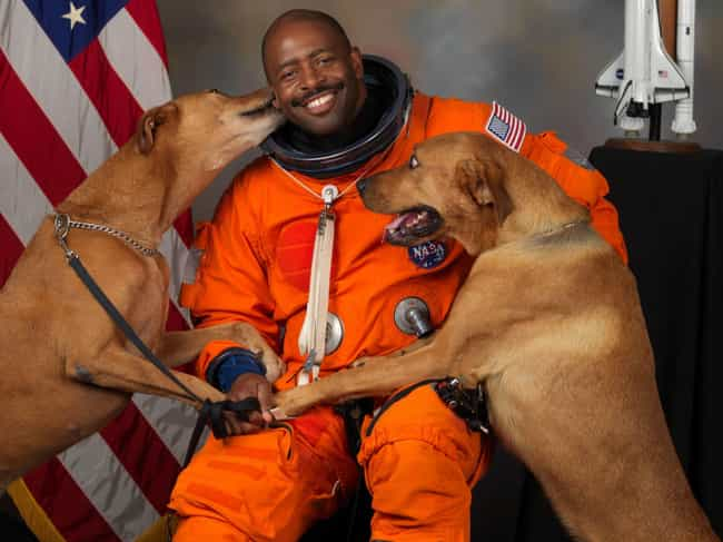 Astronaut Leland D. Melvin Wit... is listed (or ranked) 2 on the list 20 Photographs From History Guaranteed To Make You Smile