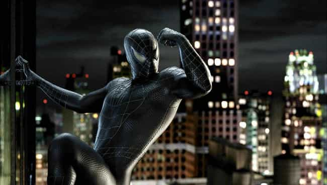 """The """"Spider-Man 3"""" Symbiote Su ... is ranked 4th in the """"Everybody's Live Action Spider-Man Costume"""" ranking"""