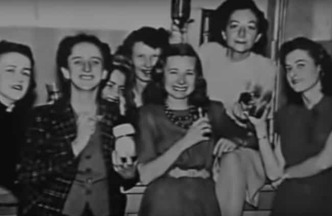 Scientists Took Ethyl Alcohol ... is listed (or ranked) 2 on the list Here's What Life Was Like At Los Alamos While Building An Atomic Bomb