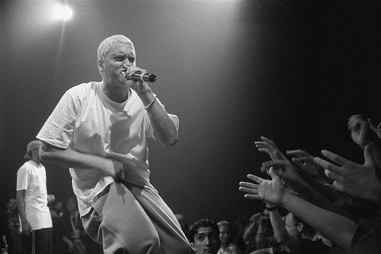 Before The Grammys, Many Were Angry At What Was Characterized As Eminem's Homophobia