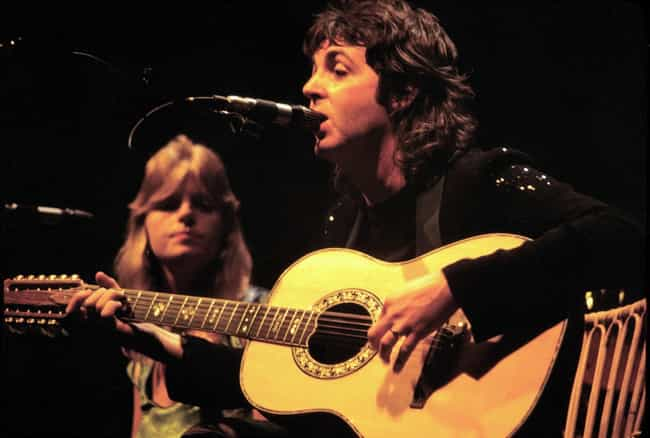Paul & Linda McCartney is listed (or ranked) 3 on the list 14 Music Power Couples Who Didn't Break Up