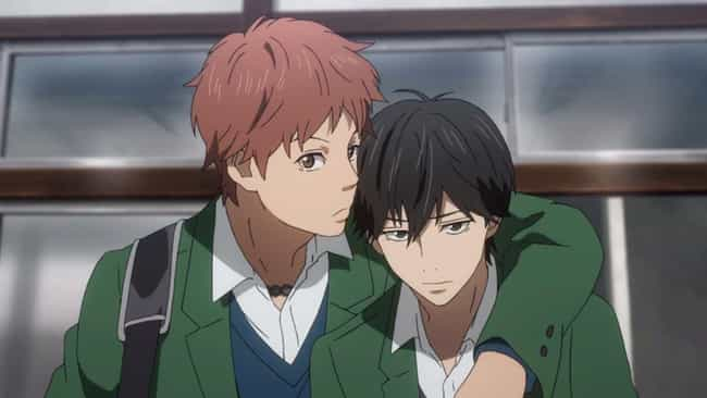 Suwa, Kakeru, & Naho - 'Orange... is listed (or ranked) 4 on the list The 20 Most Memorable Anime Love Triangles