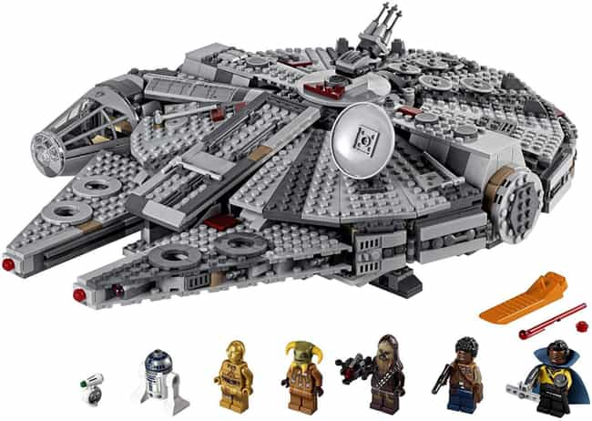 LEGO Millennium Falcon is listed (or ranked) 2 on the list Amazing Star Wars Gifts From A Galaxy Not So Far Away