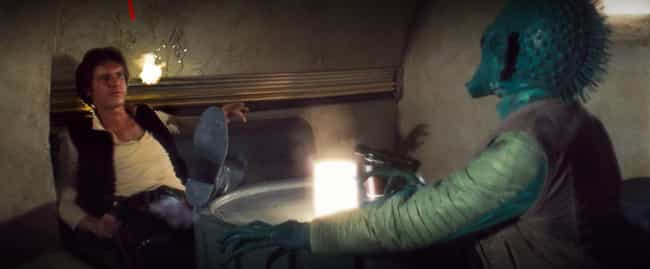 1997: Greedo Fires First  is listed (or ranked) 2 on the list Han Shot First? A Timeline Of The Most Contentious Scene In 'Star Wars' History