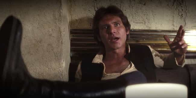 1997: Lucas Explains The Reaso... is listed (or ranked) 4 on the list Han Shot First? A Timeline Of The Most Contentious Scene In 'Star Wars' History