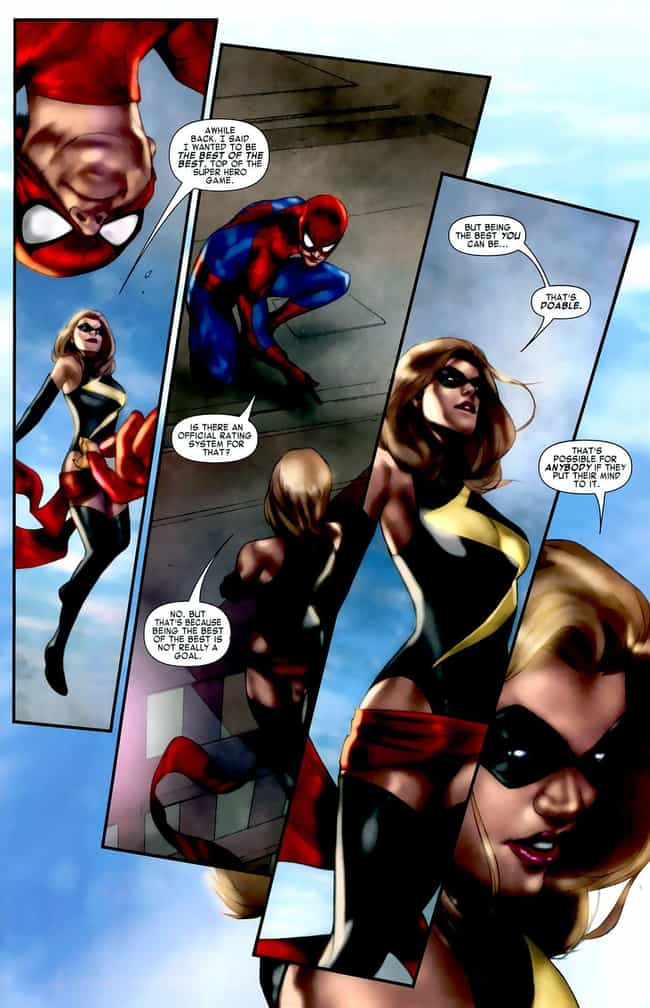 Be The Best You Can Be is listed (or ranked) 1 on the list The Most Inspirational Quotes From Comic Books