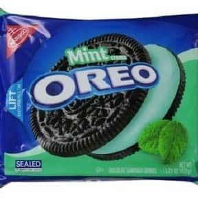 Mint Oreo is listed (or ranked) 19 on the list The Best Oreo Flavors