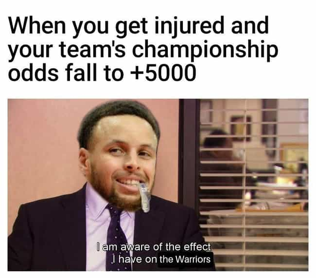 Can I Still Get An MVP Vote? is listed (or ranked) 4 on the list The Best Warriors Memes To Help Fans Get Through The 2019-20 Season