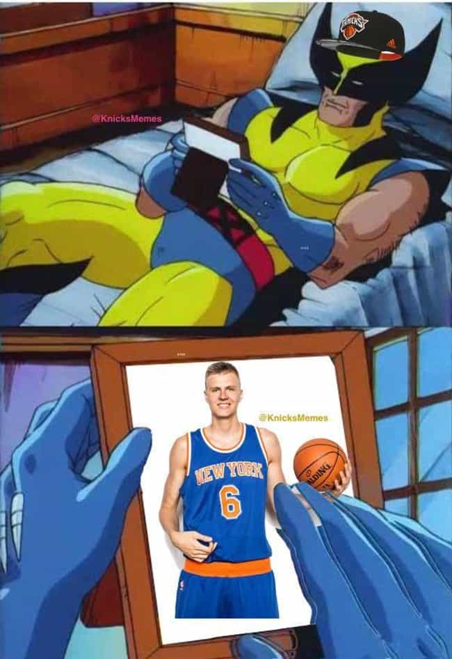 You Don't Know What You've Got... is listed (or ranked) 2 on the list New York Knicks Memes To Get Fans Through The 2019-20 Season