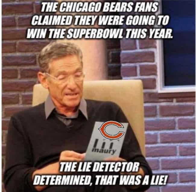 High Expectations is listed (or ranked) 1 on the list Memes To Express Why Chicago Bears Fans Are The Worst