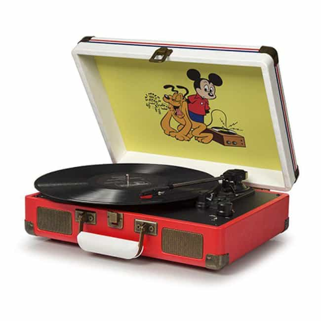 Mickey Mouse Record Player is listed (or ranked) 1 on the list Magical Gift Ideas For People Who Are Obsessed With Disney